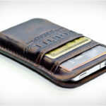 Portel Leather Pocket for iPhone