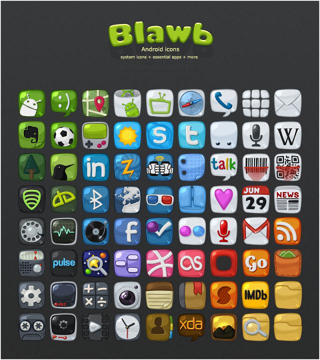 blawb android icons