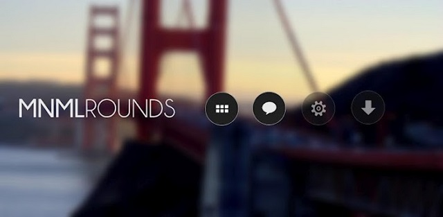 mnmlrounds android icone