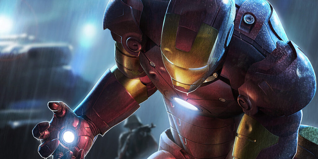 superhero cover photos iron man