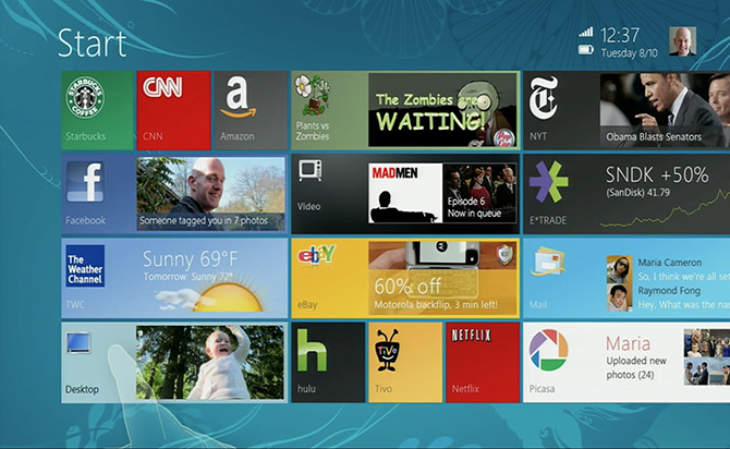 windows 8 mock-up metro