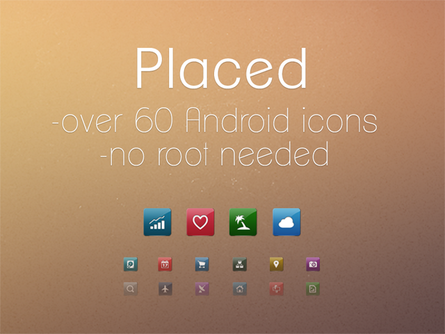 placed icon pack