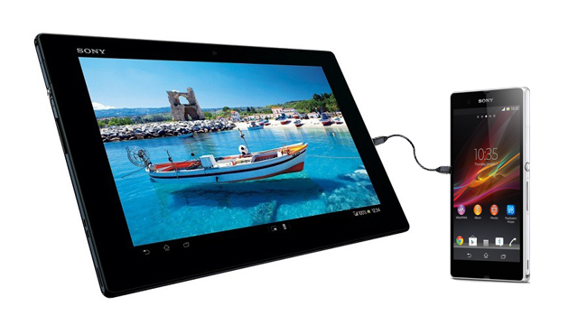 xperia z charging tablet