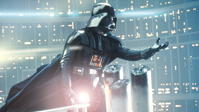 star wars lens flare darth vader