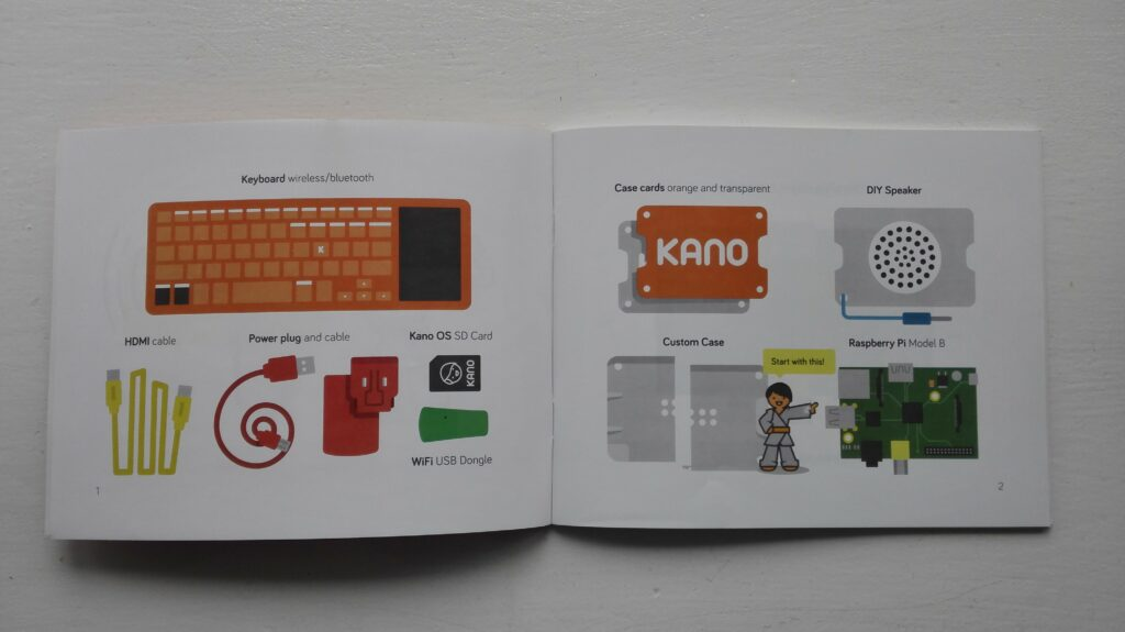 Kano instruction book