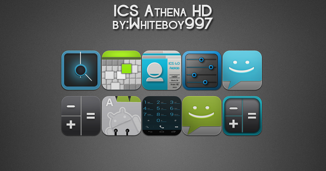 ICS Android Icons