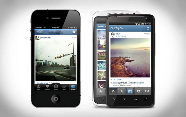 instagram iphone android