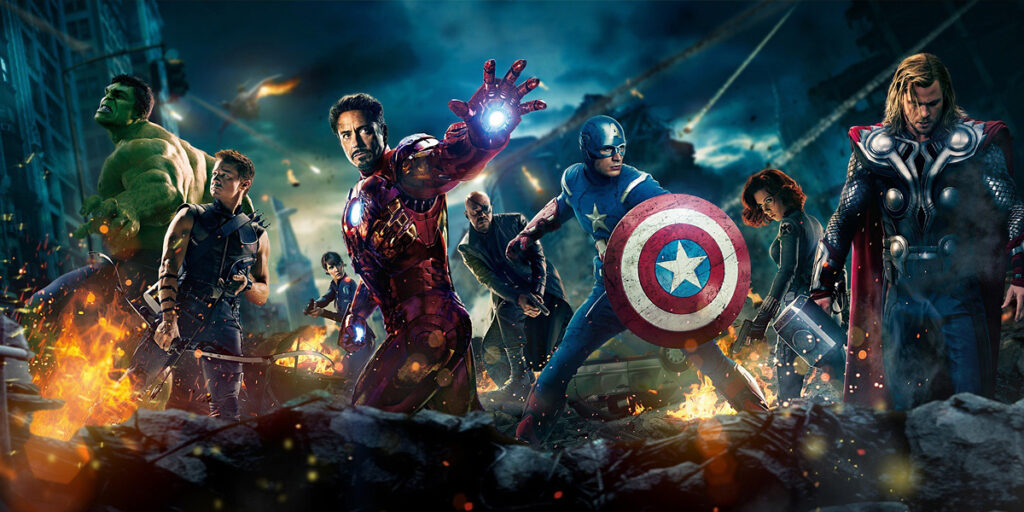 superhero cover photos avengers
