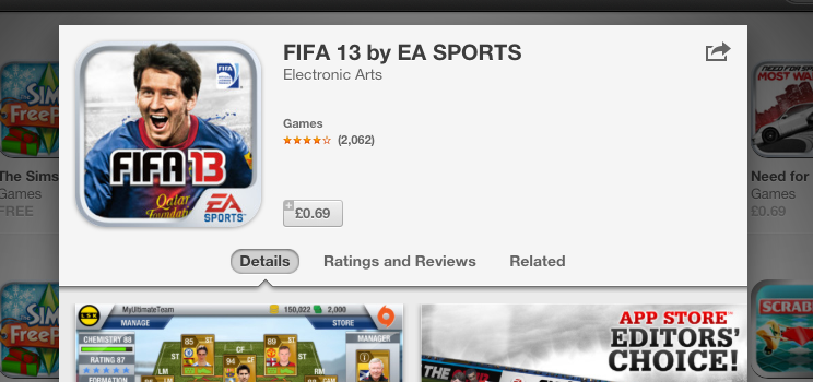 EA and Gameloft Sale