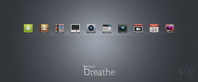 breathe icon pack