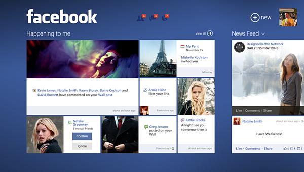 Facebook concept 3
