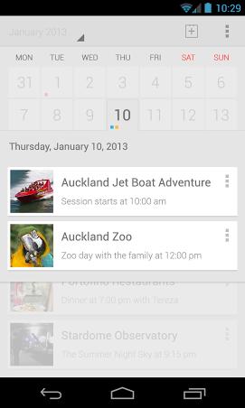 google calendar app concept