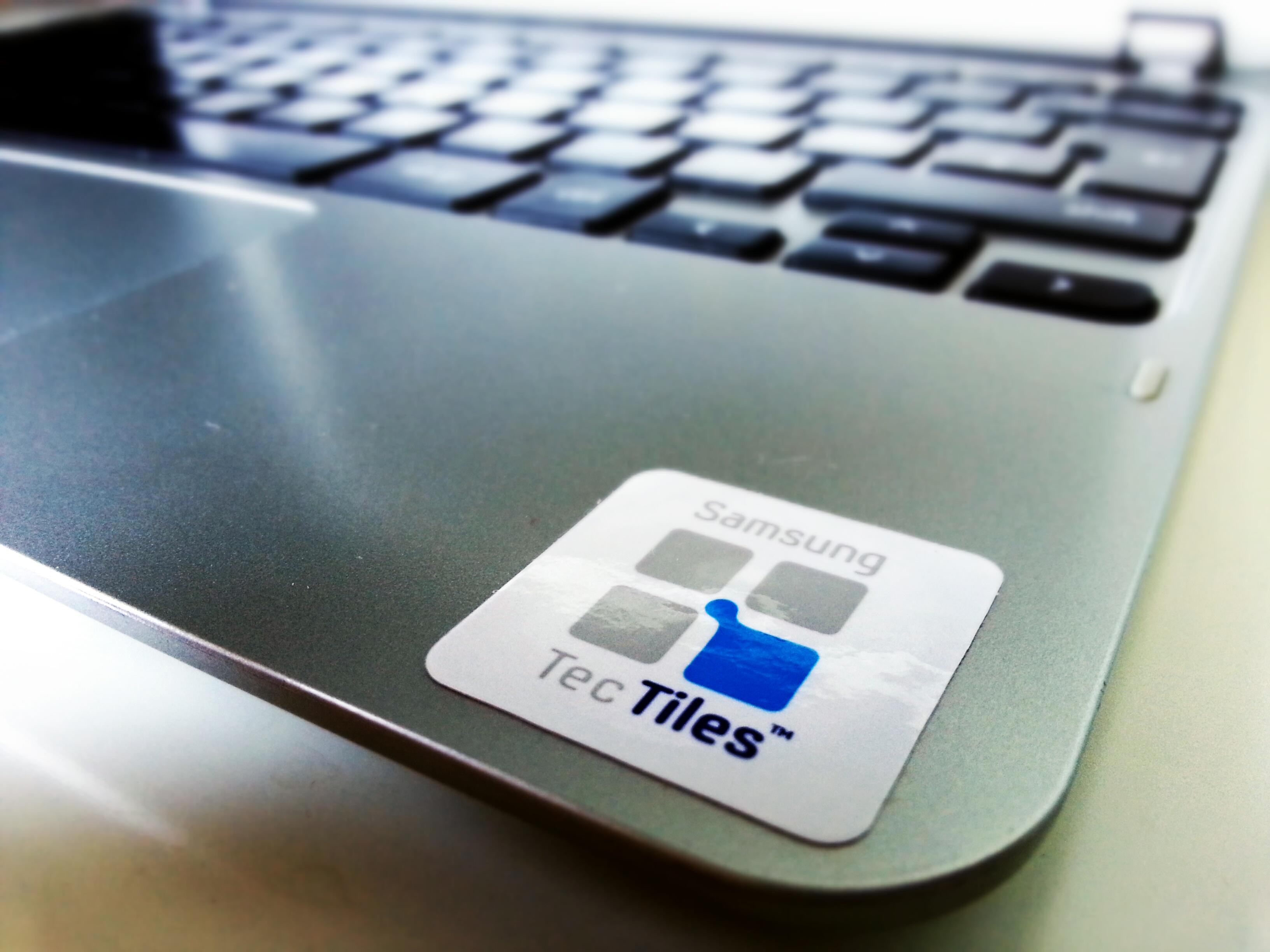 NFC tag on Chromebook