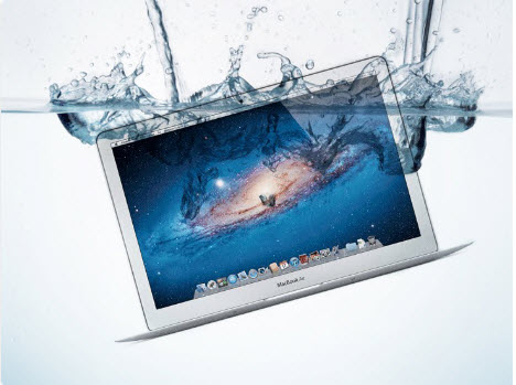 mac-in-water